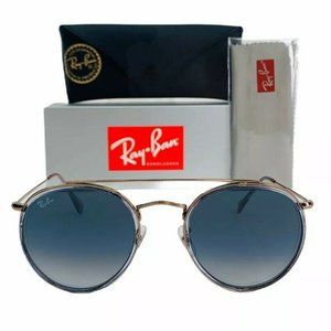 Ray-Ban Round Double Bridge RB3647 Sunglasses